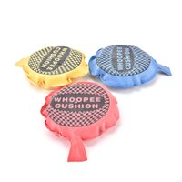 Wholesale Cushion Makers - 1PC Whoopee Cushion Jokes Gags Pranks Noise Maker Trick Play Fun Toy Fart Pad Novelty Funny Gadgets Blague Tricky Gag Toys