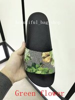 Wholesale Stylish Women Sandals - In 2018 and women in stylish men and women's sandals are comfortable slippers designer printed single beach flip-flops 35-45 high quality