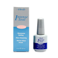 Wholesale Ibd Uv Gel Intense - Wholesale-2016 New IBD Intense Seal Protect Dry Nail Top Coat 0.5oz 14ML salon for UV Gel Acrylic Wrap lasting Eliminates Buffing