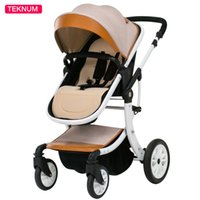 Wholesale poussette stroller for sale - Group buy Baby Stroller High Landscape pram Four Wheel Baby Trolley Folded Two way Poussette Bebek Arabas Kinderwagen Bebe Baby Carriage