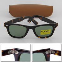 Wholesale price lenses for glasses for sale - Group buy 30pcs Vassl Brand new Women sunglasses style Tortoise frame Green lens mm UV400 Glasses Price For Brown Case