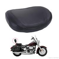 Wholesale Suzuki Motor Cover - Universal Motorcycle Backrest Back Cushion Pad For Harley Honda Yamaha Suzuki Motor Saddle Seat Cover #MB145