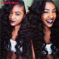 Wholesale brazilian remy hair price resale online - Glary Virgin Hair Bundles Brazilian Human Hair Extensions Piece Mix Length Remy Human Hair Bundles For Black Women Cheaper Price