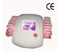 máquinas láser profesionales de lipo al por mayor-Alta calidad la venta más caliente Zerona láser máquina de adelgazamiento profesional diodo dual Lipo láser 650nm Lipolaser 10 + 4 almohadillas láser