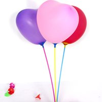Compra Per Coppa-Palloncini Stand Holder con coppa di colore Decorazione Festa Forniture Balloon Rods Bastoni Palloncini Decorazione per il matrimonio Fidanzamento Boy Girl