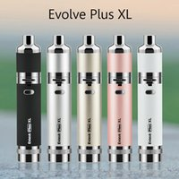 Wholesale Wholesale Sellers - Authentic Yocan Evolve Plus XL Kit Wax Vaporizer Pen 1400mAh Vape Dab Pen Kit QUAD Coil Huge Vapor Authorized Seller