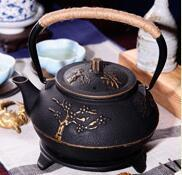 Wholesale Iron Hand Warmer - Hot style popular health pot of cast iron uncoated iron teapot iron pot in the south