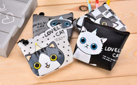 Wholesale 2017 explosion cat Princess cute Korean creative hand bag waterproof jelly zero wallet bag