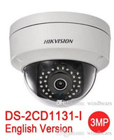 Wholesale Ip Camera Poe Wireless - English version hikvision DS-2CD1131-I replace DS-2CD2135F-IS DS-2CD2135F-IWS 3MP network mini dome cctv camera POE IP camera H.264+