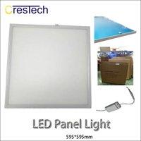 panel led ultra delgado al por mayor-Panel de luz LED 600 595 Iluminación interior LED Lámpara de panel 6063 Aluminio luz led ultra delgada