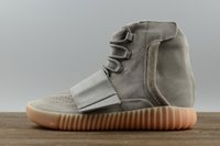 Wholesale Casual Boots Men Cheapest - With Box 2017 Adidas Originals Yeezy Boost 750 Discount Running Shoes Men Women Kanye West BB1840 Boots Cheap Casual Shoes Size 5-11.5