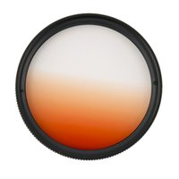 Wholesale Universal mm Filters Circle Mirror Lens Gradient UV For DSLR Camera Lens