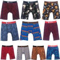 Free shipping Random colors Ethika Men's boxer underwear sports hip hop rock excise underwear skateboard street fashion quick dry US size