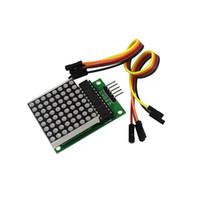 Wholesale kit mcu for sale - Group buy MAX7219 Dot Led Matrix Module MCU LED Display Control Module Kit for arduino DIY KIT