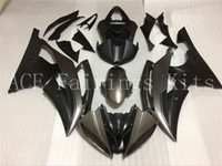 Wholesale Silver R6 Fairings - 4 Free Gifts New Injection ABS Fairing kits 100% Fit for YAMAHA YZFR6 08 09 10 11 12 YZF R6 2008-2012 YZF600 black and silver