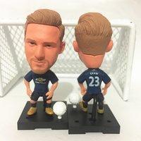 Wholesale Luke Figure - Soccerwe Football Dolls 2016-17 Season United Player Luke Shaw Rashford Ibrahimovic Dolls Red Blue Collections Gift