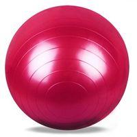 ingrosso palla 65cm-65 centimetri di PVC antiscivolo palle da ginnastica per bambini palestra palla per allenamento fitness 5 colori tenda esterna Yoga Sport + B