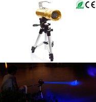 lanterna tática amarela venda por atacado-Multi Fuction Pesca Tactical Lanterna Tocha CREE T6 Prova de Água 100 M 1800 Lumen com Três Luz Azul Claro Amarelo Branco para Riddding