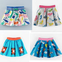 Wholesale Hot Skirt Styles - 4 style BST 2017 hot selling NEW ARRIVAL Little Maven girls Kids 100% high quality Cotton cartoon print skirt causal summer skirt free ship