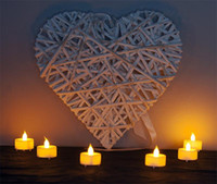 Wholesale white flickering battery tea lights for sale - Group buy Colorful Set of Flickering Flicker Flameless LED Tealight Tea Candles Light Battery Operated for Wedding Birthday Party Christmas Xmas