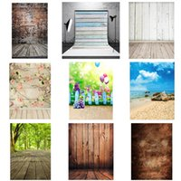 Wholesale 10 Styles X7FT Photography Newborn Kids Photo Studio Background Backdrop Stage Props