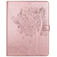 Wholesale Protective Laser - iPad 2 3 4 Case, Laser Carving Tree PU Leather Flip Protective Case [Card Slot Case] [Magnetic Closure] Stand Smart Cover For iPad 2 3 4