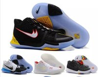 Wholesale Big Size Shoes Cheap - kids Big boy shoes 36-46 Drop Shipping 2017 Wholesale Basketball Shoes Kyrie 3 Sneakers High Quality Cheap Hot Sale Outdoor Sports Shoes