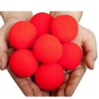 Wholesale Magic Props For Sale - Wholesale- HEY FUNNY 5 Pcs lot Finger Magic Props Sponge Ball Close-UP Street Classical Illusion Magic Tricks For Sale trucchi di magia