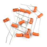 Wholesale Usa Electric - USA Orange SBE Capacitor Electric Guitar Bass Tone Capacitor 0.047uf 473J   0.022uf 223   0.033uf 333J   0.068uf 683  10 piece