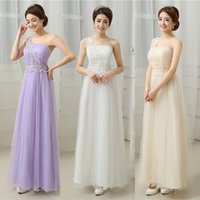 Wholesale Hot Dinner Dresses - 2017 new bridesmaid dress, long fashion dress, bridal wedding, dinner toast, long bridesmaid dress hot sale ZX016