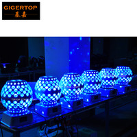 Wholesale lantern moon - Freeshipping 20 Unit Led Lantern Stage Effect Light Moon Star Gobo Rotation Mini Roof Mounting Club Effect Light Cheap Price