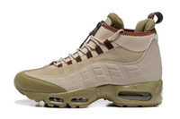 erkekler için yeni çizmeler toptan satış-Moda Çizmeler 95 Siyah erkek Yastık Yeni Ayak Bileği Çizmeler Yüksekliği En 95s Su Geçirmez Iş Boots Erkekler Ayakkabı Ucuz Satış