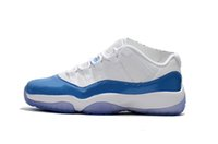 Wholesale Cheap Gum - Cheap 11 Retro Low Closing Ceremony Bred Concord Carolina Georgetown Navy Gum Basketball Shoes Mens Sports Shoes Trainers Athletics Boots
