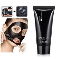 Wholesale pilaten blackhead remover resale online - PILATEN Black Mask Peel off Mask Blackhead Remover Deep Cleansing Pore Cleaner Mask g Free DHL Shipping