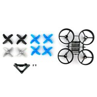 Wholesale Black Electric Fan - Fan Blade *8 Frame *1 Camera Fixed Part *1 For Mini Drone JJRC H36 Quadcopter Six-axis gyroscope MINI UFO accessories