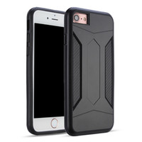 Wholesale Heavy Duty Mobile - For iPhone 6sPlus Armor Bumper Protective Phone Case for Apple iPhone 6 Plus Heavy Duty Defender 2-in-1 Hybrid Back Cover Mobile Phone Case