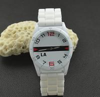 Wholesale yellow silicone watch strap - Casual brand Women Men Unisex Animal crocodile Style Dial Silicone Strap Analog Quartz Wrist watches