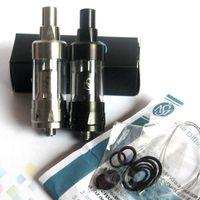 Wholesale Kayfun Mini Clone - Newest Kayfun Mini V3 RTA Clone Atomizer 19mm Diametre Airflow Control Glass Tank Silver Black 2 Colors fit 510 Mods DHL Free