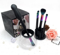 Wholesale Wholesale Electronics Sets - Magic Electronic Makeup Brush Cleaner Device Makeup brushes cleans and Dries Machine Keeps Cosmetic Makeup Brushes Soft & Clean Fast