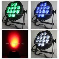 luces de 15 vatios led al por mayor-(Paquete de 6) Stage Wash 15 Watt * 12 LED PAR Stage Light (RGBWA) Impermeable Ip65 Uso en exteriores