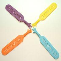 Wholesale Wholesale Novelty Bookmarks - Wholesale- 4Pcs Funny Help Me Bookmarks Pad Note Stationery Novelty Book Mark Interesting