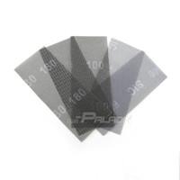 Wholesale Wholesale Abrasive Sandpaper - 10 pcs Wet and Dry Abrasive Mesh Net Sandpaper 115*280 mm Sanding Screen Carving Stone Tools