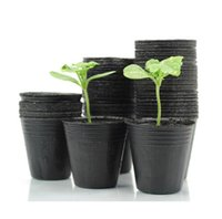 carve flower pots - New Nursery Pots Seedling raising Pan Feeding Block Nutrition Pan Garden Supplies Size