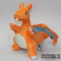 Wholesale Birth Cool - 30cm Cartoon Monster Charizard XY cool stuffed toy soft Plush Doll figure baby gift