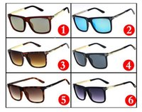 Wholesale Men Sunglasses Anti Uv - 2017 fashion men and women sunglasses, unique personality wild models, anti-UV frame, high-quality fashion sunglasses wholesale