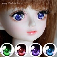 Wholesale Bjd Eyes 14mm - Toy Eyes Safety Eyes For Toys SD BJD Acrylic Eye Doll Cartoon 1 Pair 14mm 16mm 18mm 1 3 1 4 1 6 For BJD Doll Accessories