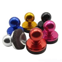 Wholesale Mini Tactile Game Controller Mini joystick for iPhone iPad touch or Android device cellphone roker sucker