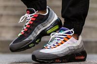bagajsız nakliye toptan satış-Ücretsiz kargo yeni Indirim olmak Maxes Mens Racer 95 sneakers çizmeler adam koşu ayakkabıları SB eor 40-45