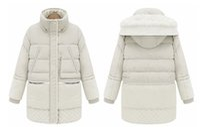 Wholesale Slim Large Lapel Coat - Hot Sale Large Size Women Coat Thick Down Jacket Down Girls Long Lamb's Wool Jacket Large Size Women's Free Shipping