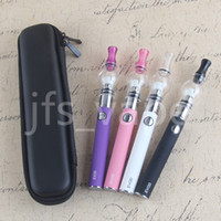 Wholesale Evod Glass - Vape vapor pen EVOD glass globe electronic wax oil vaporizer zipper case glass domes wax vaporizer starter kits
